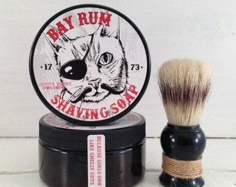 Bay Rum Shaving Soap | Handmade Soap | Gifts For Dad