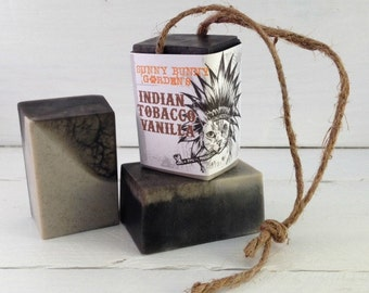 Tobacco Soap On A Rope, Manly Soap, Soap Men Love, Indian Tobacco Soap, Gifts For Dad, Gifts For Hubby, Funny Gifts, Funny Stocking Stuffer
