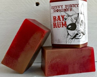Bay Rum Soap Bar, Manly Soap, Gifts For Men, Fathers Day Gifts, Soaps Guys Love, Bay Rum Vegan Soap Bar, Old Fashioned Soap For Men, Pirates