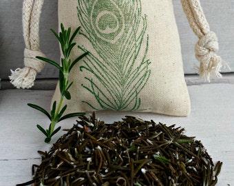 BULK Rosemary Sachet Bags | Scented Sachets | Sachet Favors | Aromatherapy Wedding Favors | Scented Drawer Sachets | Dried Organic Rosemary
