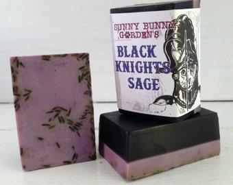 Lavender Sage Soap, Masculine Soap, Organic Lavender Soap, Boys Soap, Sage Soap, Lavender Soap, Soap For Men, Lavender Soap