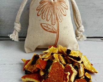 Orange Clove Sachets | Aromatherapy | BULK Orange Clove Scented Sachets | Sachet Favors | BULK Wedding Sachet Favors | Bags for Drawers