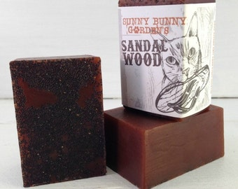 Sandalwood Soap, Soap, Manly Soap, Gifts For Dad, Sandalwood Handmade Soap, Gifts For Him, Groomsman Gifts, For Boyfriend, Best Man, Shaving
