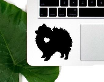 Pomeranian Vinyl Decal, Best Friend Gift, Cute Stickers, Dog Stickers, Pet Stickers, Laptop Stickers, Macbook Decal, Water Bottle Sticker
