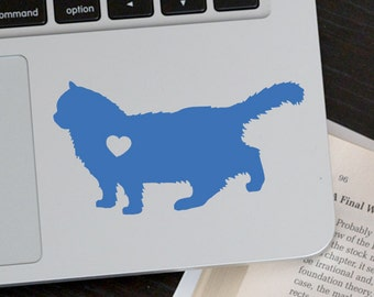 Ragdoll Cat Sticker Ragdoll Decal Car sticker  Laptop sticker Vinyl Decal Sticker