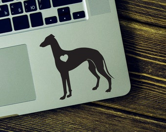 Greyhound Sticker Greyhound Decal iPhone Car Laptop Vinyl Decal Sticker