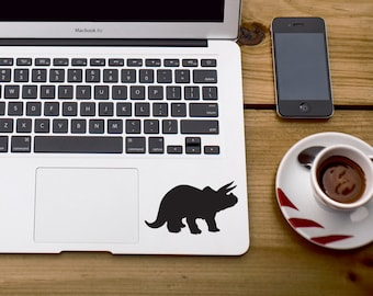 Triceratops dinosaur sticker dinosaur sticker Raptor sticker Car Laptop Vinyl Decal Sticker