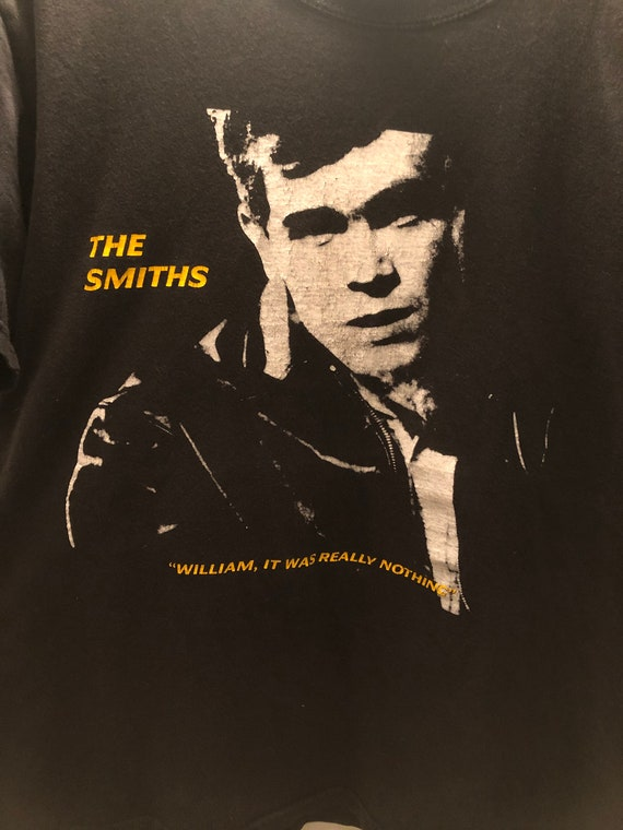 VINTAGE The Smiths William It Was Really Nothing S