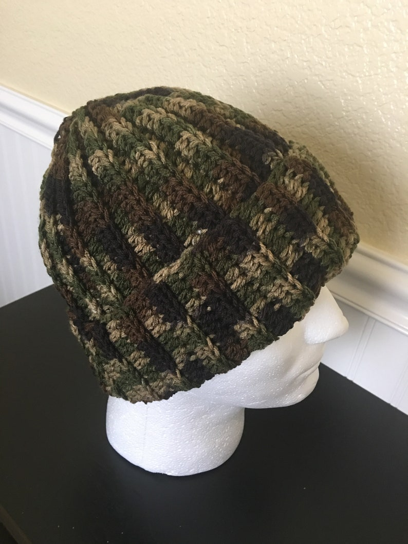 fa3e8e97fedbc Camo men s beanieWinter men beaniewarm men beanieMen