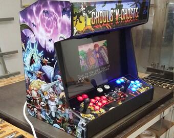 Super Mini Bartop Arcade Machine 9 inch screen   Etsy