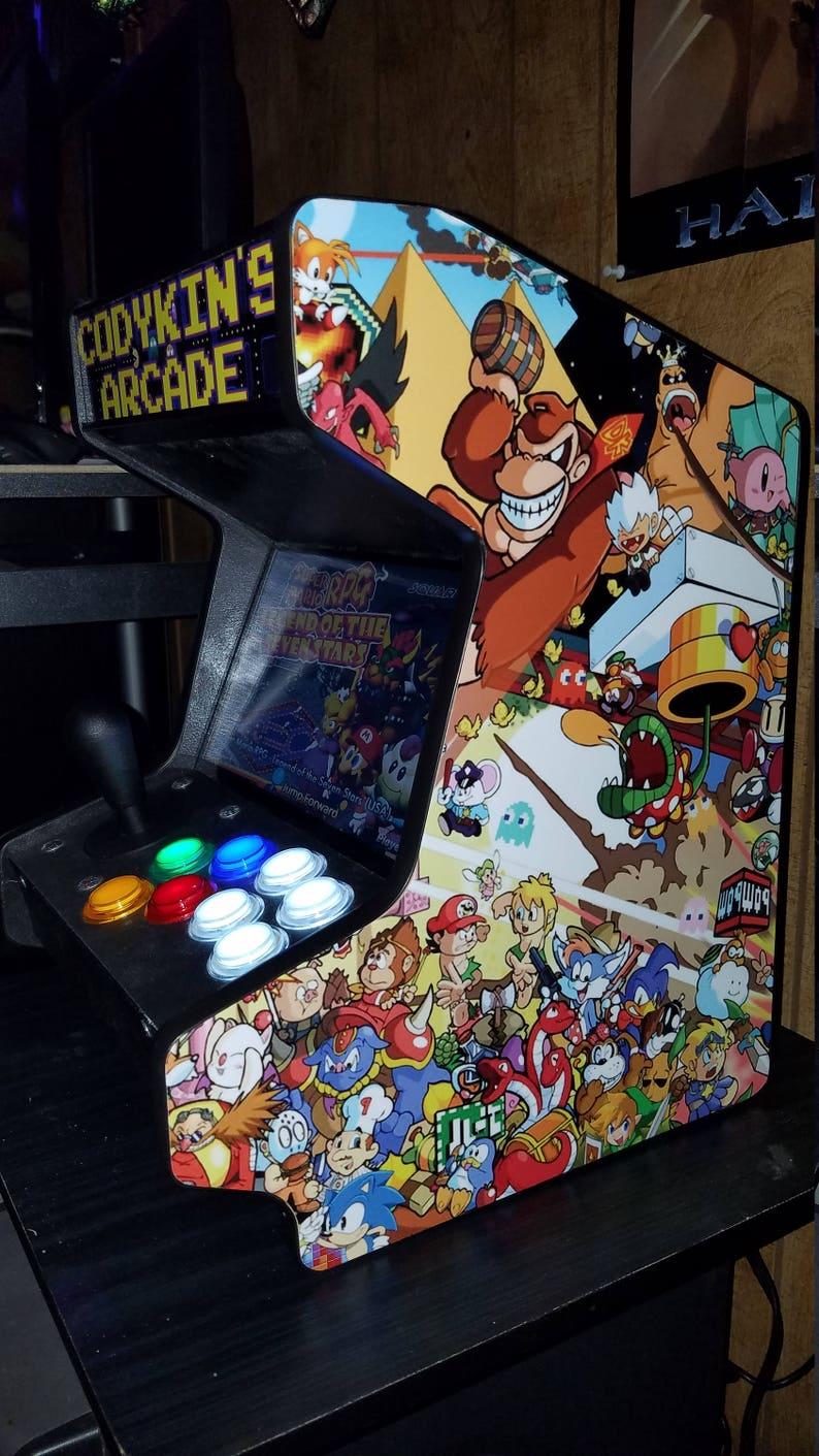 Super Mini Bartop Arcade Machine, 9 inch screen!