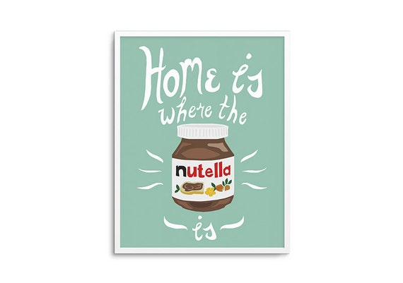 Home is Where the Nutella is