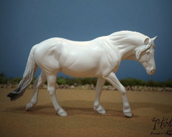 Custom Commissioned/Portrait Model Horse, Traditional Scale Pony Mare by Eberl (Breyer)