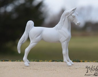 Custom Portrait Model of Your Real or Dream Horse, Stablemate Scale Standing Horse, Body #14 (Breyer)