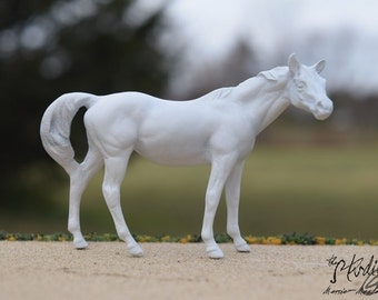 Custom Portrait Model of Your Real or Dream Horse, Stablemate Scale Standing Horse, Body #13 (Breyer)