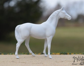 Custom Portrait Model of Your Real or Dream Horse, Stablemate Scale Standing Horse, Body #12 (Breyer)