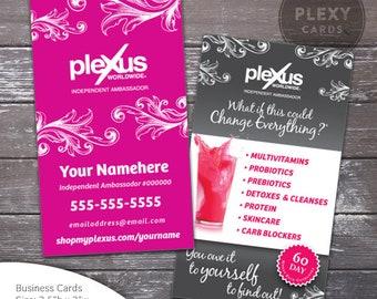 More Colours Plexus Business Cards