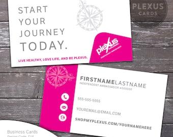 Plexus business card design etsy plexus journey business card design digital files reheart Choice Image