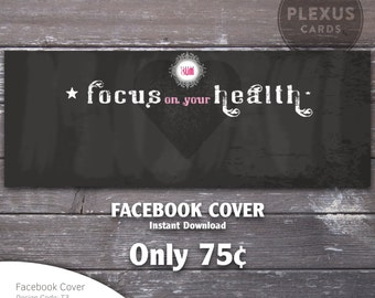 Plexus Facebook Cover Chalkboard design - Instant Download