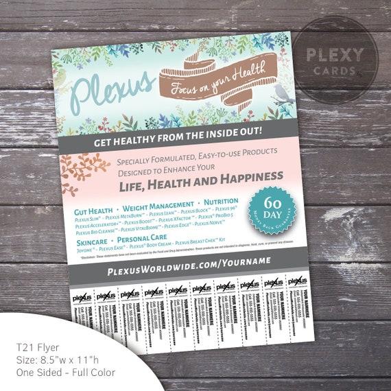 Plexus Labels Boho Design Printed /& Shipped
