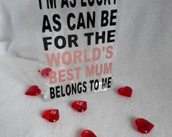 Mothers Day Acrylic Blocks