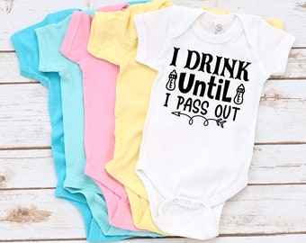 Custom Toddler T-Shirt I Chug til Pass Out Just Like My Aunt Boy /& Girl Clothes