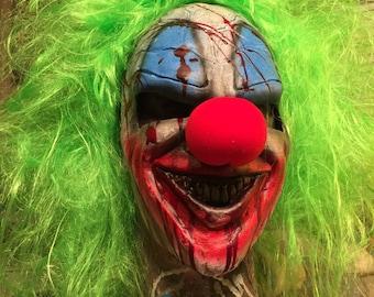 Killer clown mask