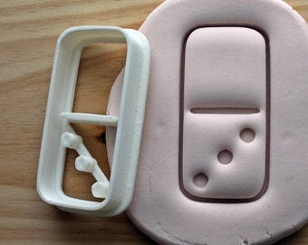 Domino Piece 0 - 3 Cookie Cutter -/- Brand New -/- Made To Order -/- Made From Biodegradable Material -/- Accepting Custom Orders