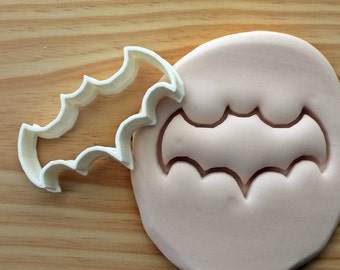 Bat Sign 4 Cookie Cutter -/- Brand New -/- Made To Order -/- Made From Biodegradable Material -/- Accepting Custom Orders