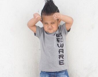 Boy Halloween Shirt, Boy tshirt, Boys Shirt, Boys Halloween Shirt, Halloween Shirt, Halloween tshirt, Halloween Shirt for Boys, beware