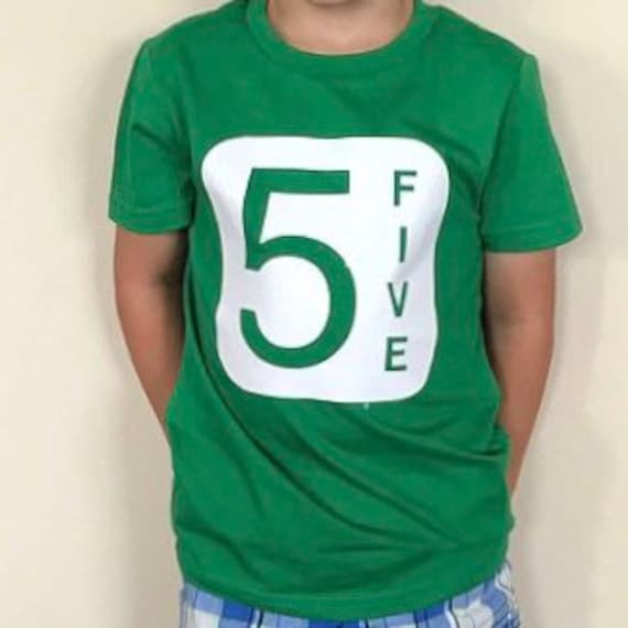 5th Birthday Shirt Boy Fifth Girl