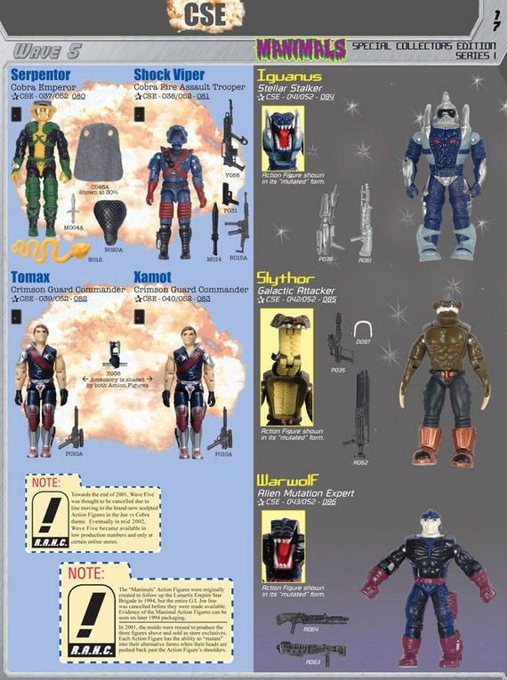 Joe 1997-2007 Reference book Cobra Commander Duke Guide G.I R.A.H.C