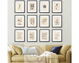 golf office decor. Golf Decor Patent Art Posters Set Of 12 Prints, Office Ideas,