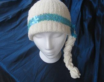 Frozen Inspired Elsa Soft Warm Winter Hat
