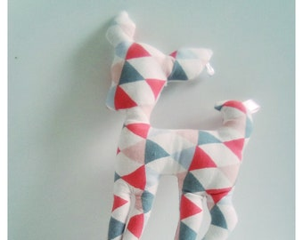Decoration / toy DOE Triangles Pastels