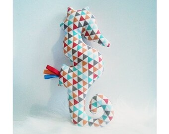 Decoration / toy seahorse Triangles