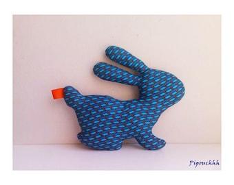 Decoration / toy blue Orange arrow