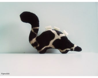 Decoration / toy dinosaur giraffe pattern