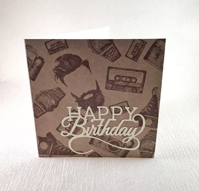 Birthday Cards For Men Greeting Handmade Acrd