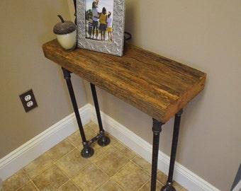Barn Wood Foyer Table