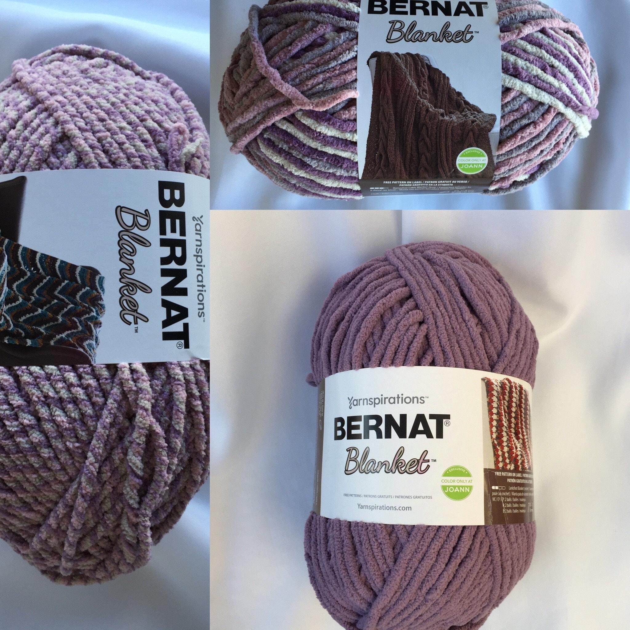 Magnífico Los Patrones De Crochet Bernat Gratuitas Bandera - Manta ...