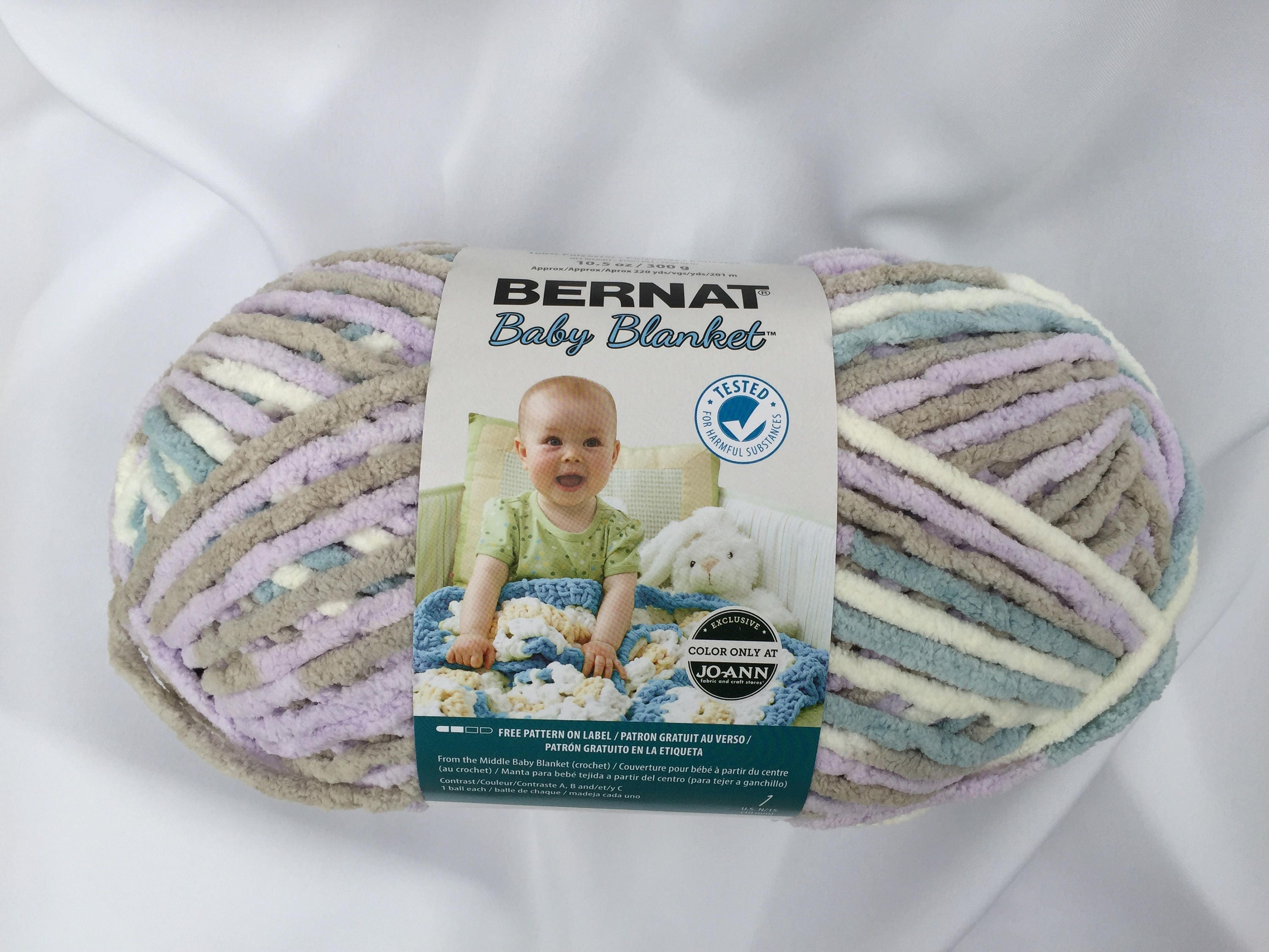 181c81cd52d CLOUD NINE 04749 Bernat Baby Blanket Yarn220yds 10.5 oz