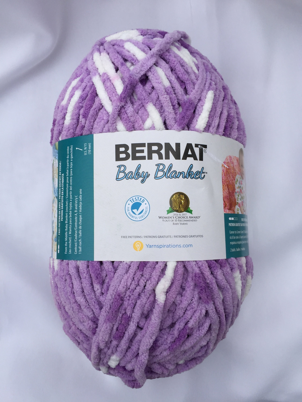 Único Los Patrones De Crochet Bernat Molde - Manta de Tejer Patrón ...
