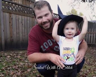 Halloween Onesie, I Have Daddy Under My Spell