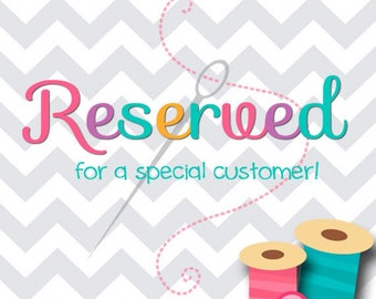 Reserved for Geri