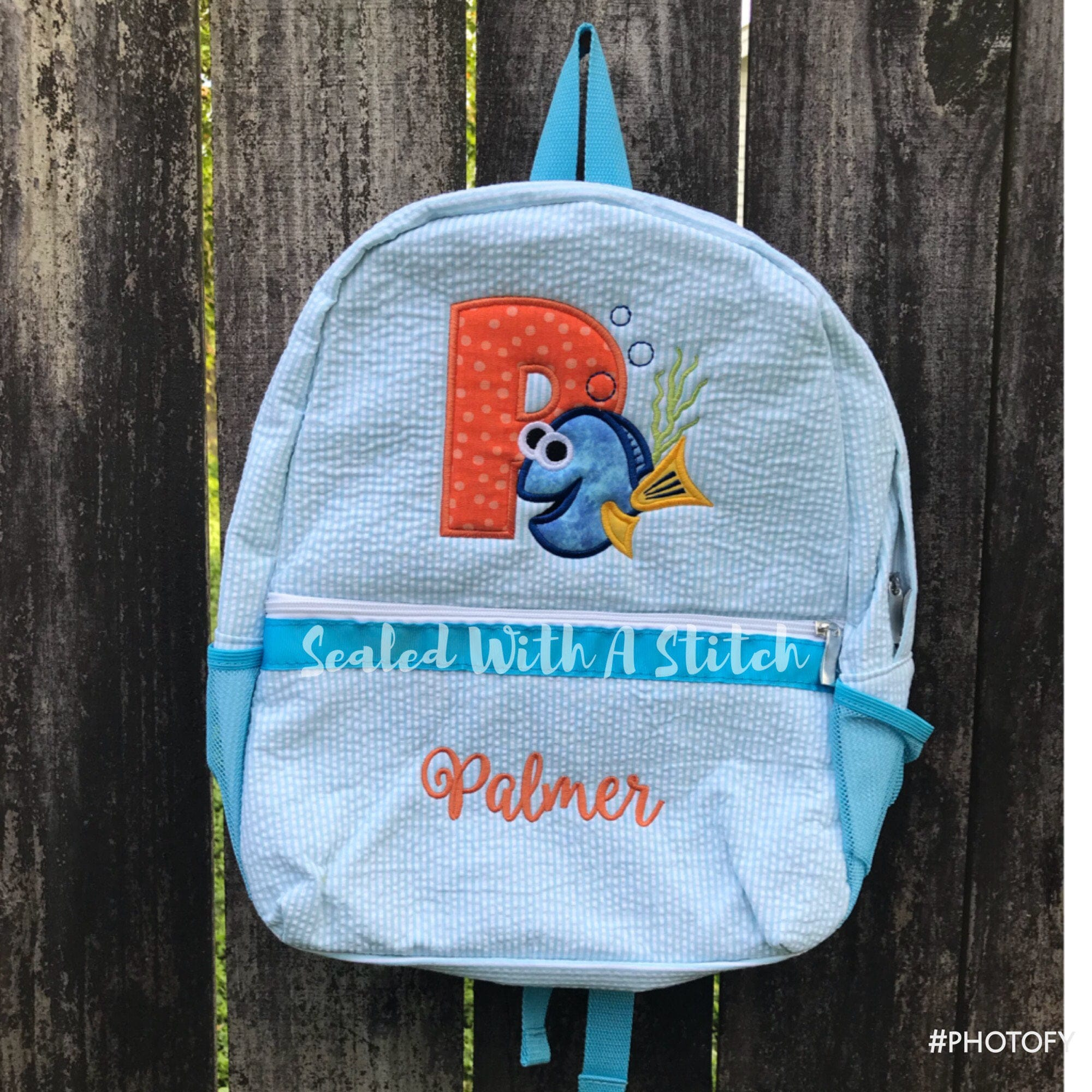 Seersucker Backpack Finding Dory Finding Nemo  fa64fc367f728