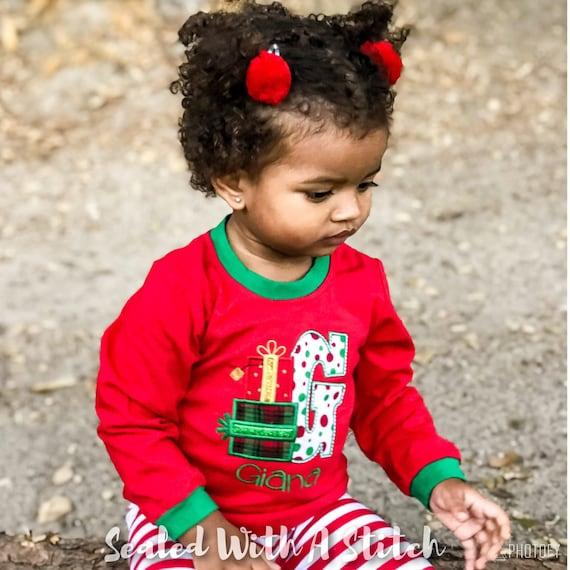 Toddler Christmas Pajamas.Toddler Christmas Pajamas Christmas Pjs Personalized Pjs Christmas Presents