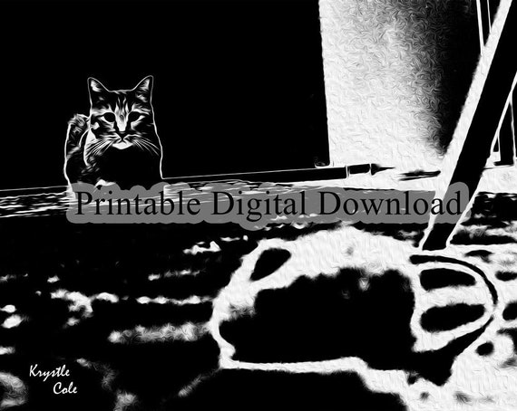 Cat and Mouse Downloadable Art