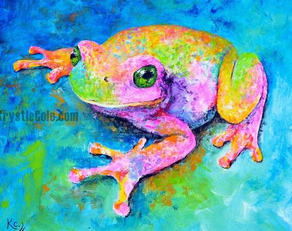 Dream Frog Print