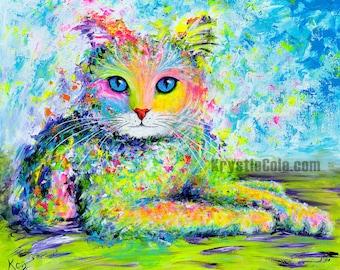 Sunshine Kitty Print